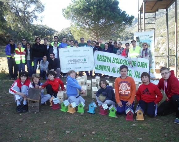 Voluntariado Eco REserva Ojén